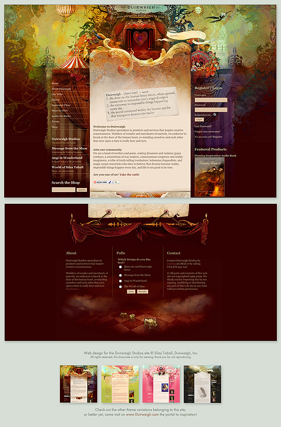 20 Beautiful Out of the Box Web Design Interfaces 16