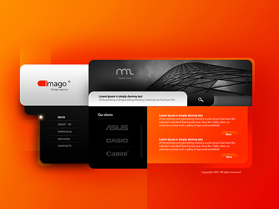 20 Beautiful Out of the Box Web Design Interfaces 3