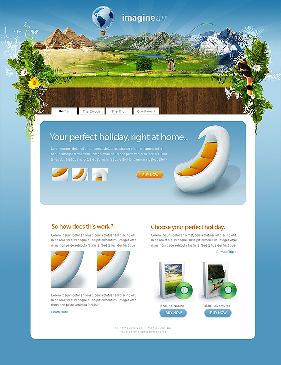 20 Beautiful Out of the Box Web Design Interfaces 5