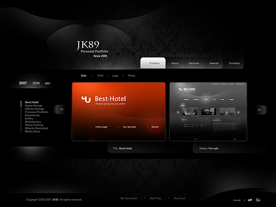 20 Beautiful Out of the Box Web Design Interfaces 9