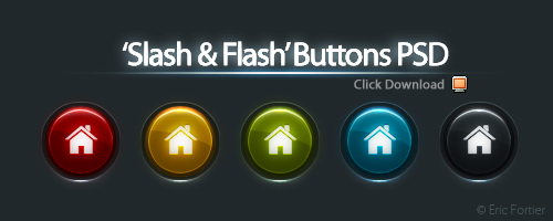 25 Beautiful Free Buttons for web designers with source file 2