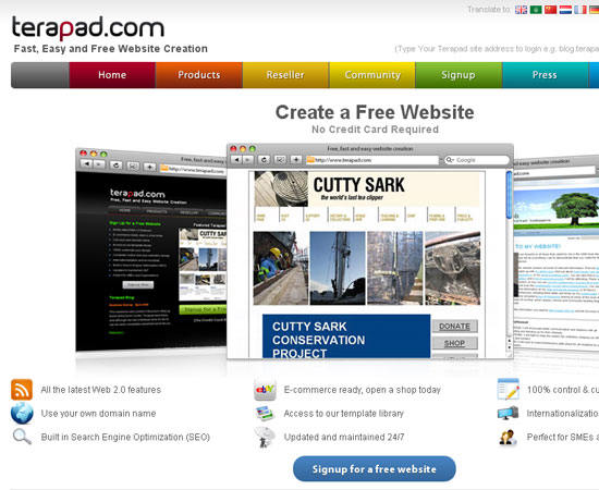 20 Useful Resources to Make your own Website for Free 10