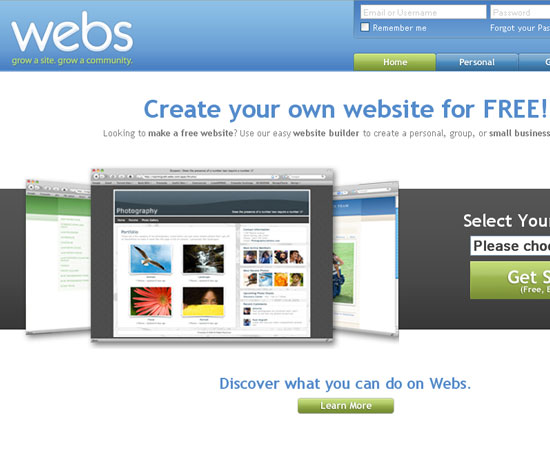 20 Useful Resources to Make your own Website for Free 2