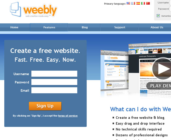 20 Useful Resources to Make your own Website for Free