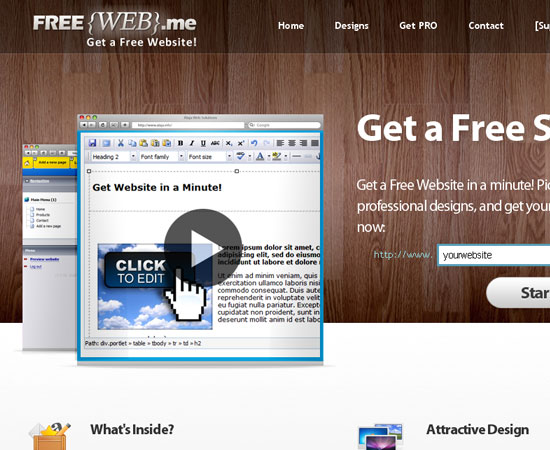 20 Useful Resources to Make your own Website for Free 6