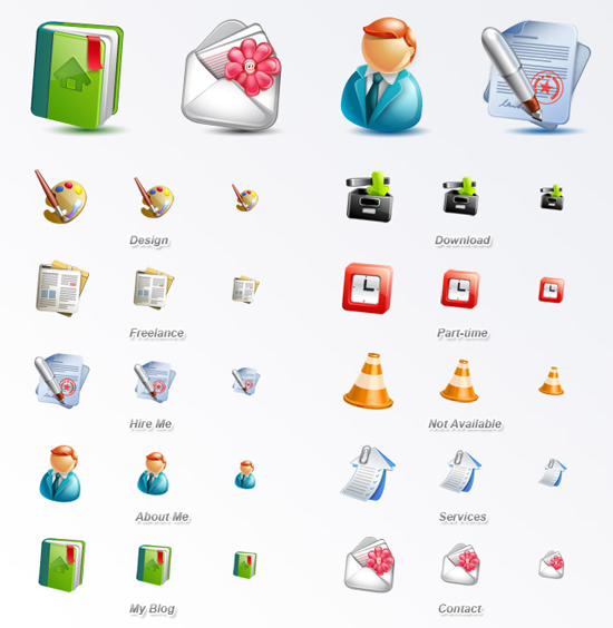Free Latest Web Design Icons Collection For September 5