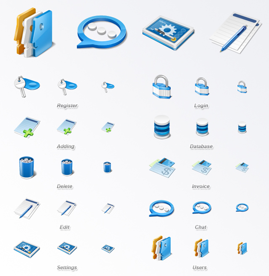 Free Latest Web Design Icons Collection For September