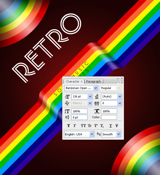 Create a Retro Music CD Cover with Photoshop and Illustrator 56