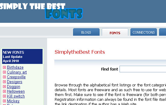 25 Popular Websites to Download Free Fonts 13