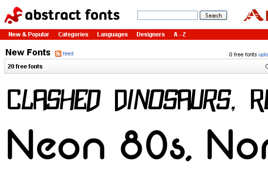 25 Popular Websites to Download Free Fonts 17