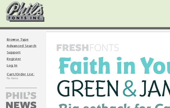 25 Popular Websites to Download Free Fonts 19