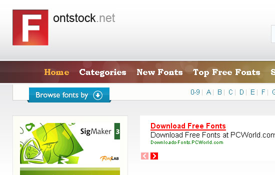 25 Popular Websites to Download Free Fonts 4