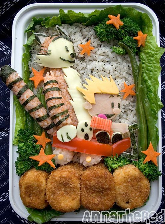 20+ Creative and Interesting Bento Box Art 6