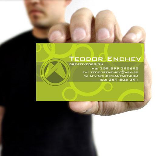 25 Excellent Business Card Design for Inspiration 7