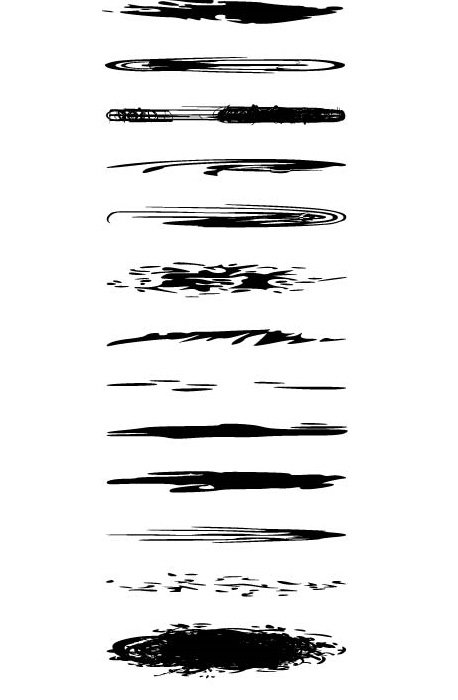 25 Excellent Sets of Free Adobe Illustrator Brushes 11