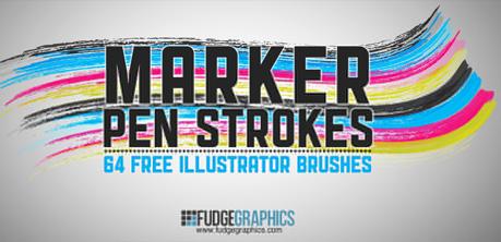 25 Excellent Sets of Free Adobe Illustrator Brushes 3