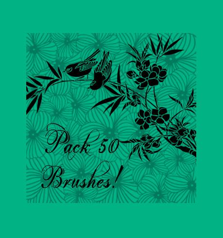 25 Excellent Sets of Free Adobe Illustrator Brushes 5