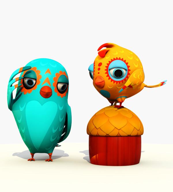 A Showcase of Beautiful 3D Illustrations by Teodoru Badiu 14
