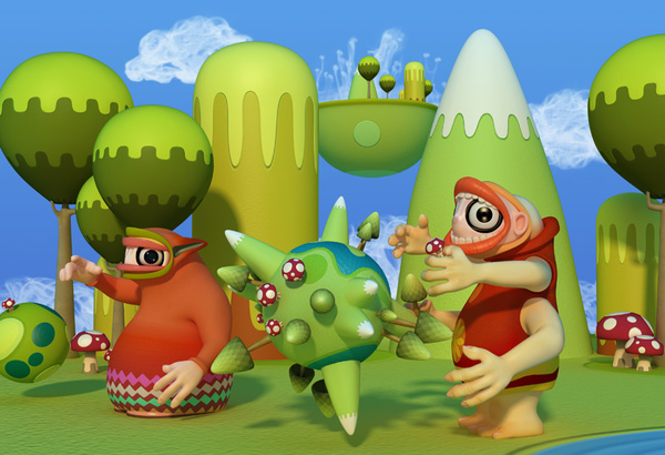 A Showcase of Beautiful 3D Illustrations by Teodoru Badiu 49