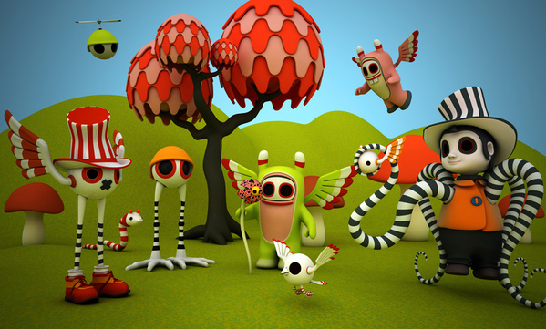 A Showcase of Beautiful 3D Illustrations by Teodoru Badiu 54