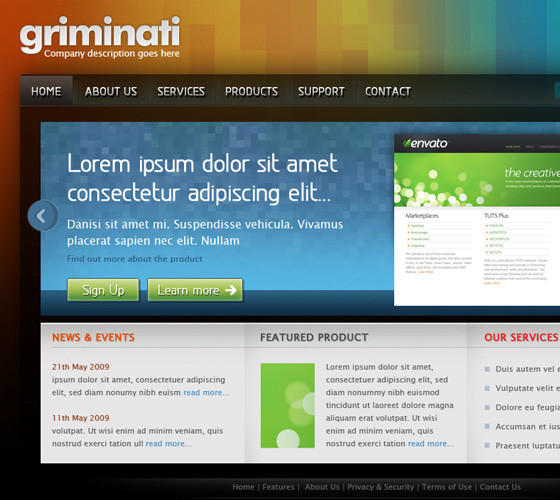 20 Most Useful Photoshop Tutorial to Create High Quality Web Design Layout 13
