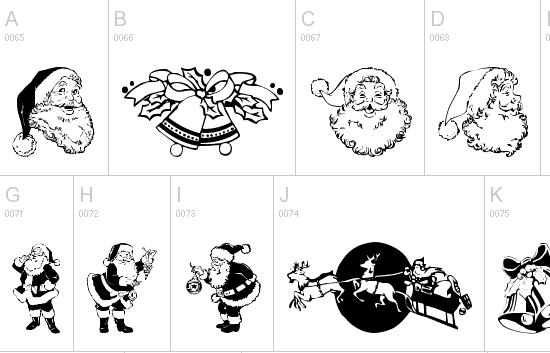 15 Beautiful Free Christmas Fonts to Design Your Christmas Theme 5