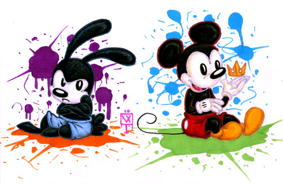 21 Beautiful Illustration of Disney Character Art for Your Inspiration 1
