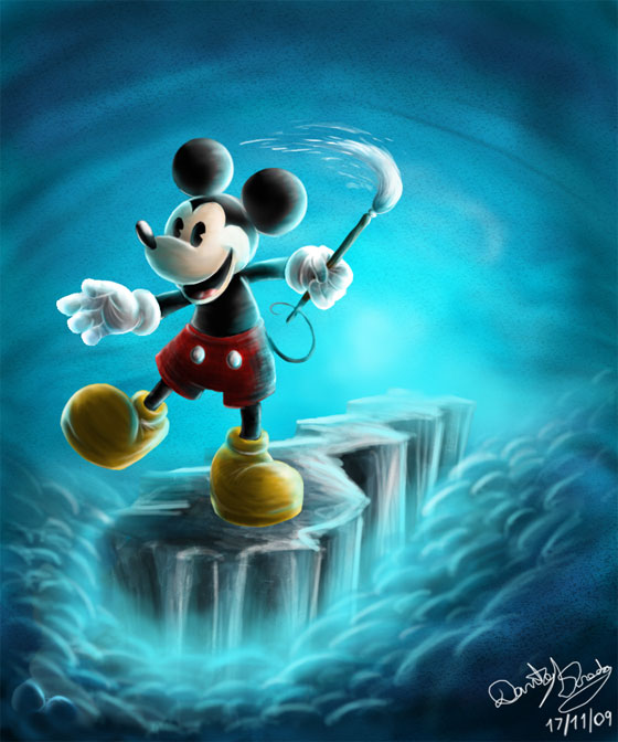 21 Beautiful Illustration of Disney Character Art for Your Inspiration 9