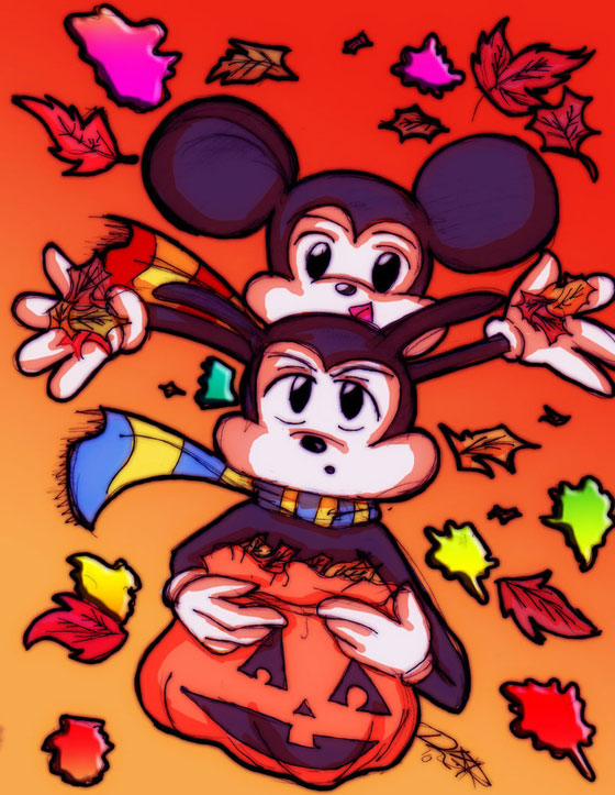 21 Beautiful Illustration of Disney Character Art for Your Inspiration 7