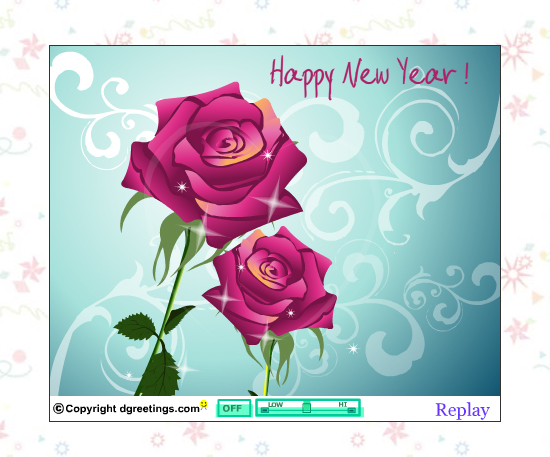 20 Most Beautiful Happy New Year E-Cards 1