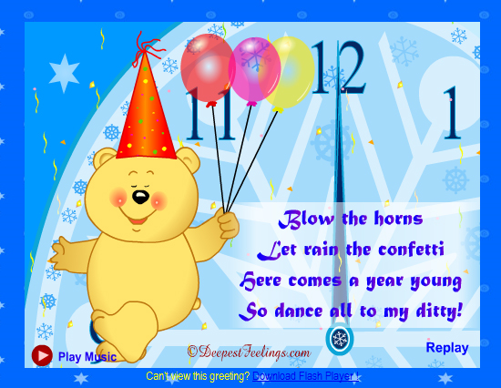 20 Most Beautiful Happy New Year E-Cards 14