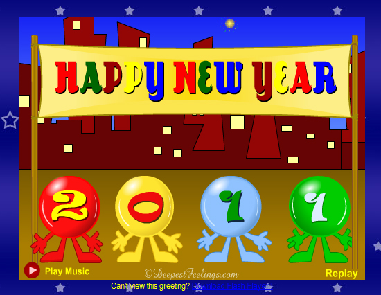 20 Most Beautiful Happy New Year E-Cards 16