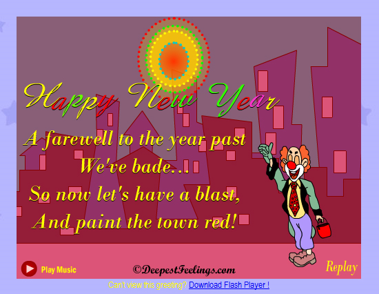 20 Most Beautiful Happy New Year E-Cards 17