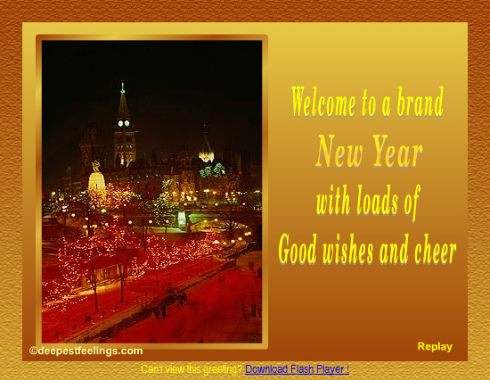 20 Most Beautiful Happy New Year E-Cards