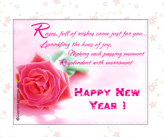 20 Most Beautiful Happy New Year E-Cards 3