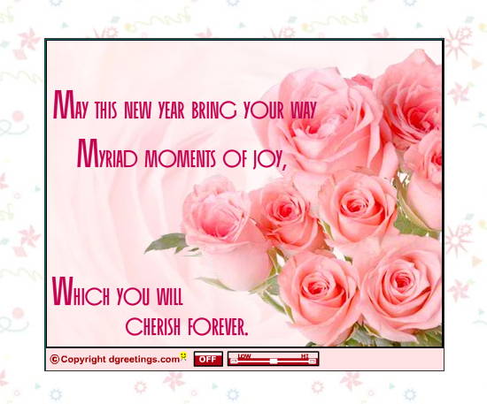 20 Most Beautiful Happy New Year E-Cards 4