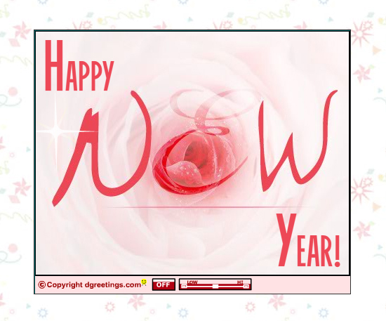 20 Most Beautiful Happy New Year E-Cards 5