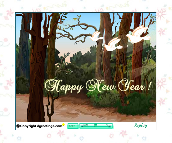 20 Most Beautiful Happy New Year E-Cards 6