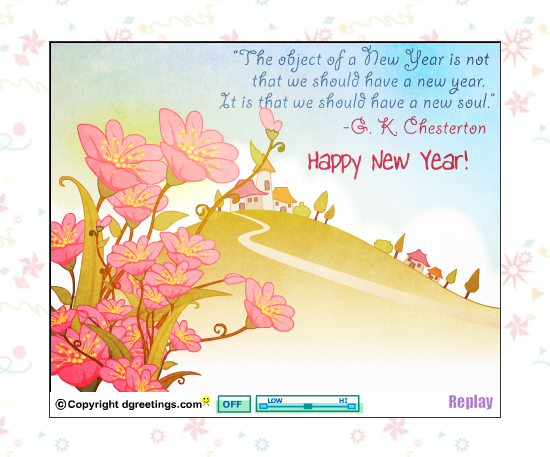 20 Most Beautiful Happy New Year E-Cards 9