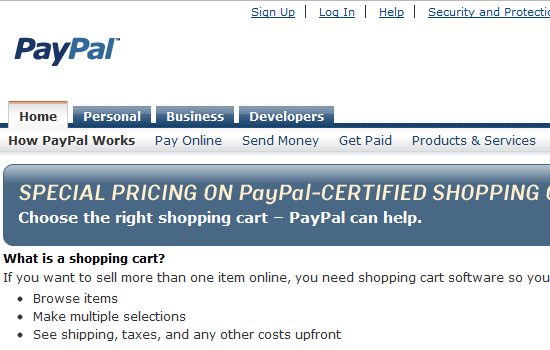 10 Most Useful Shopping Cart Options for Developers 7