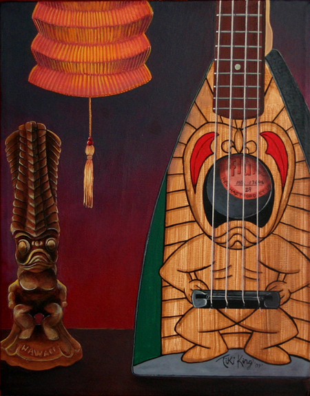 A Beautiful Gallery of 33 Amazing Tiki Art for Inspiration 1