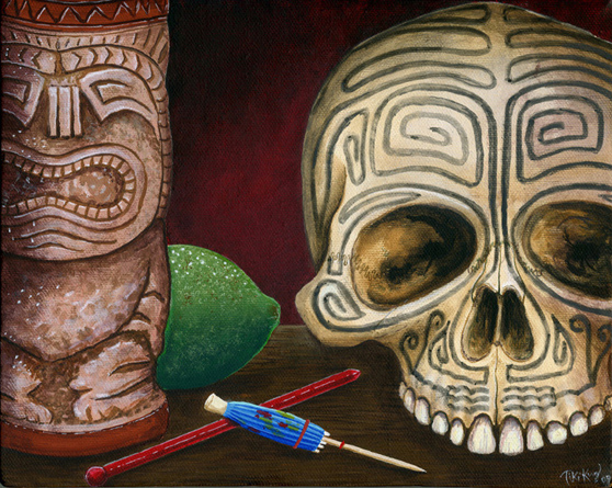 A Beautiful Gallery of 33 Amazing Tiki Art for Inspiration 10