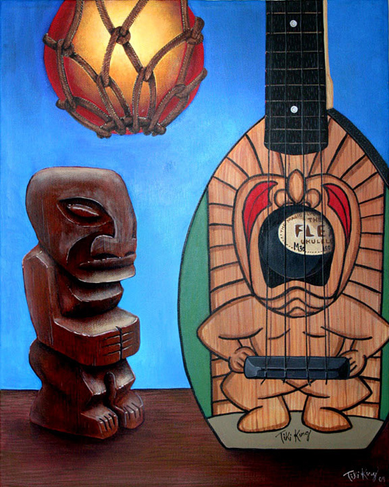 A Beautiful Gallery of 33 Amazing Tiki Art for Inspiration 11