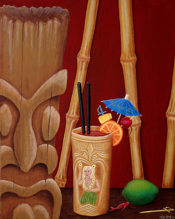 A Beautiful Gallery of 33 Amazing Tiki Art for Inspiration 12