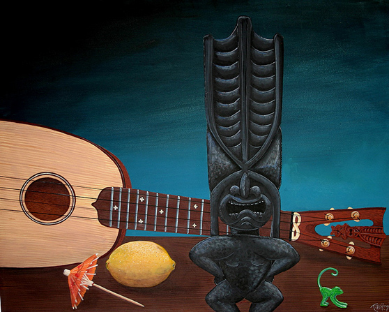 A Beautiful Gallery of 33 Amazing Tiki Art for Inspiration 13
