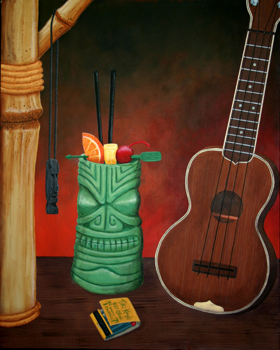A Beautiful Gallery of 33 Amazing Tiki Art for Inspiration 14