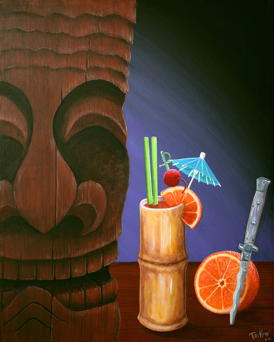 A Beautiful Gallery of 33 Amazing Tiki Art for Inspiration 15