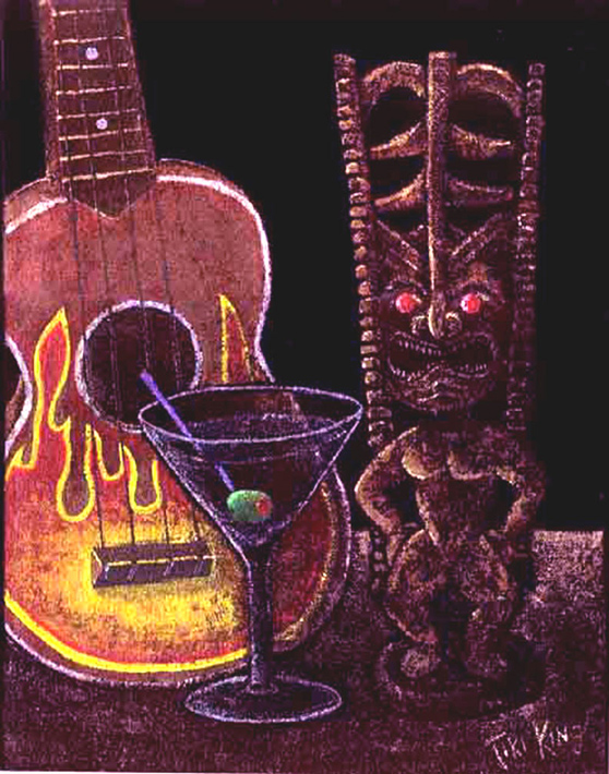 A Beautiful Gallery of 33 Amazing Tiki Art for Inspiration 17