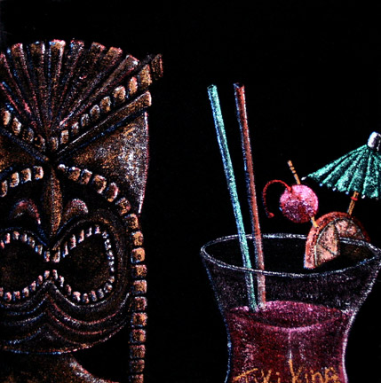 A Beautiful Gallery of 33 Amazing Tiki Art for Inspiration 22