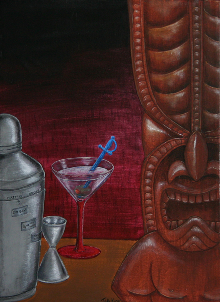 A Beautiful Gallery of 33 Amazing Tiki Art for Inspiration 3
